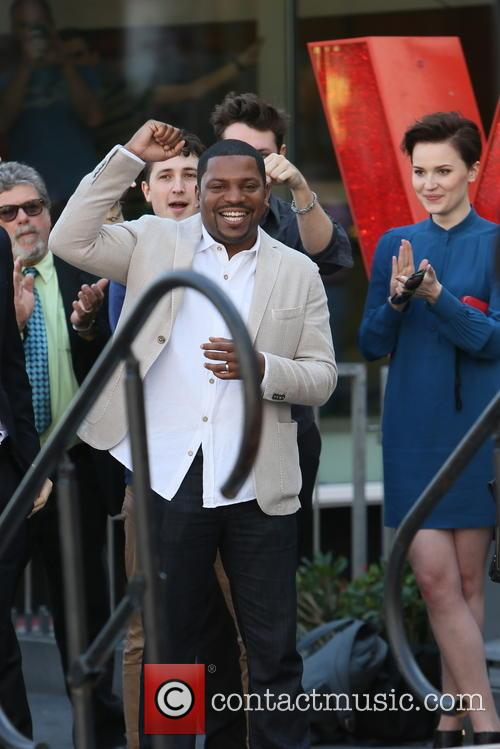 Mekhi Phifer and Veronica Roth 2