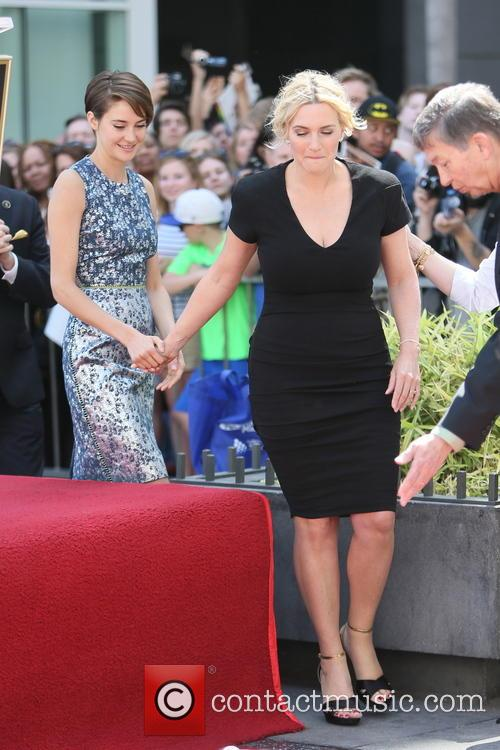 Shailene Woodley and Kate Winslet 11