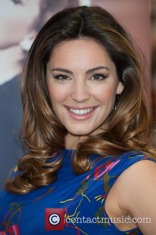 Kelly Brook parfume launch