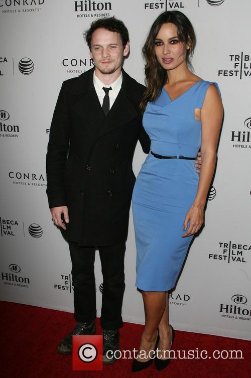 Anton Yelchin and Bérénice Marlohe