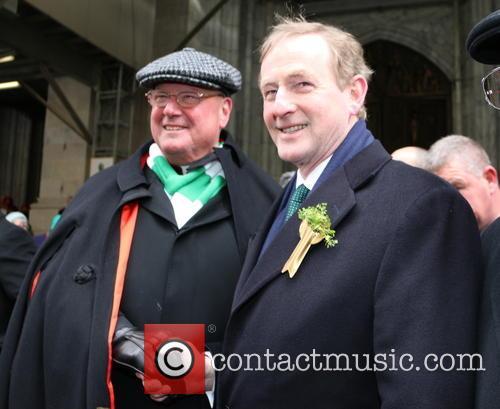 Cardinal Timothy Dolan and Taoiseach Enda Kenny 3