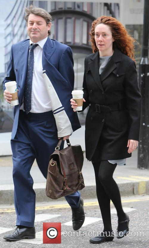 Andy Coulson, Rebekah and Charlie Brooks 8