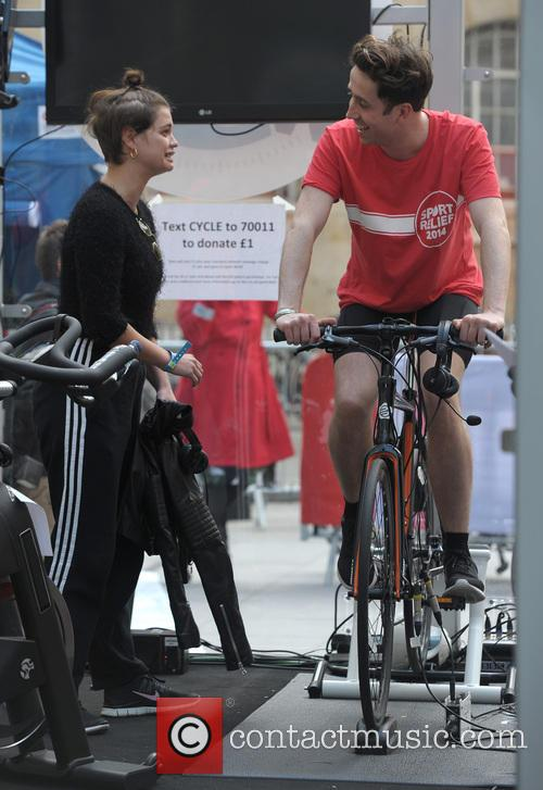 Pixie Geldof and Nick Grimshaw 7