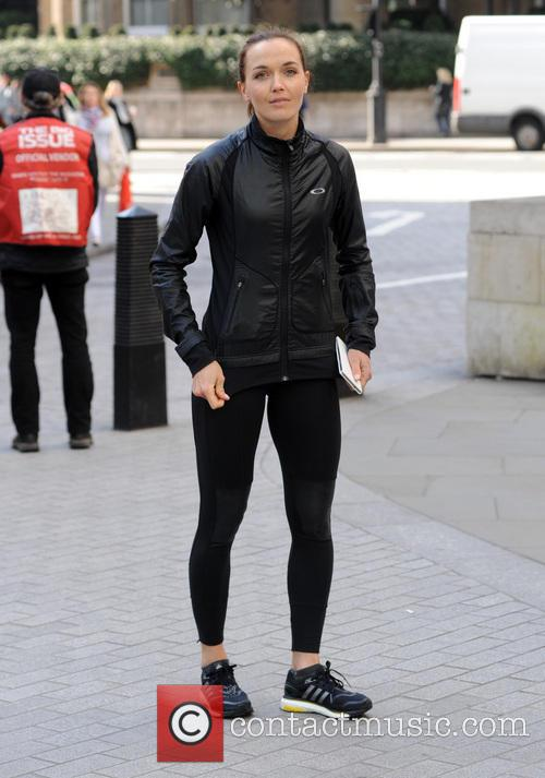 victoria pendleton sport relief with nick grimshaw 4113331