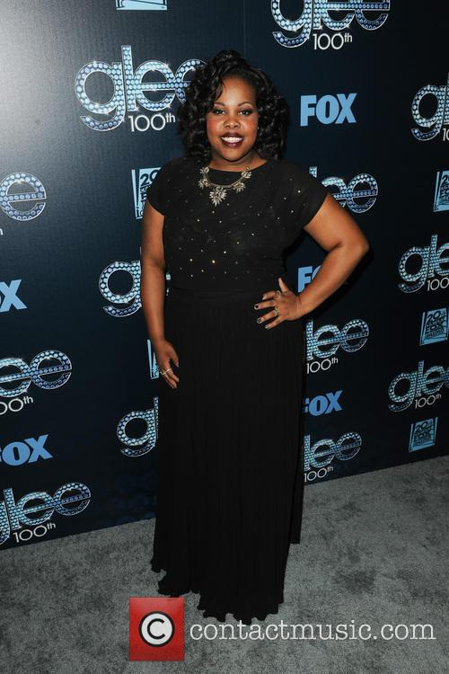 amber riley glee 100th episode celebration 4115813