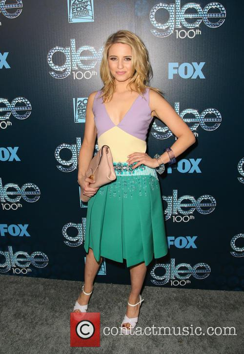 dianna agron glee 100th episode celebration 4115723