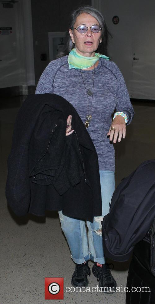 Roseanne Barr At LAX