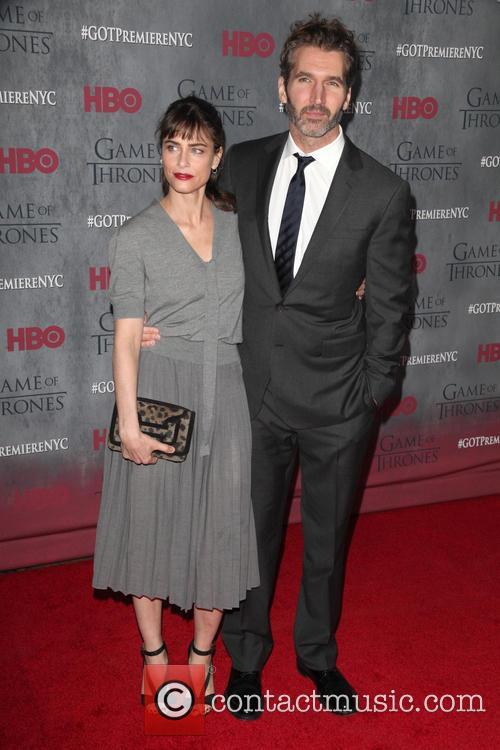 Amanda Peet and David Benioff 3