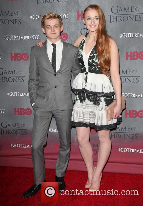 Jack Gleeson and Sophie Turner