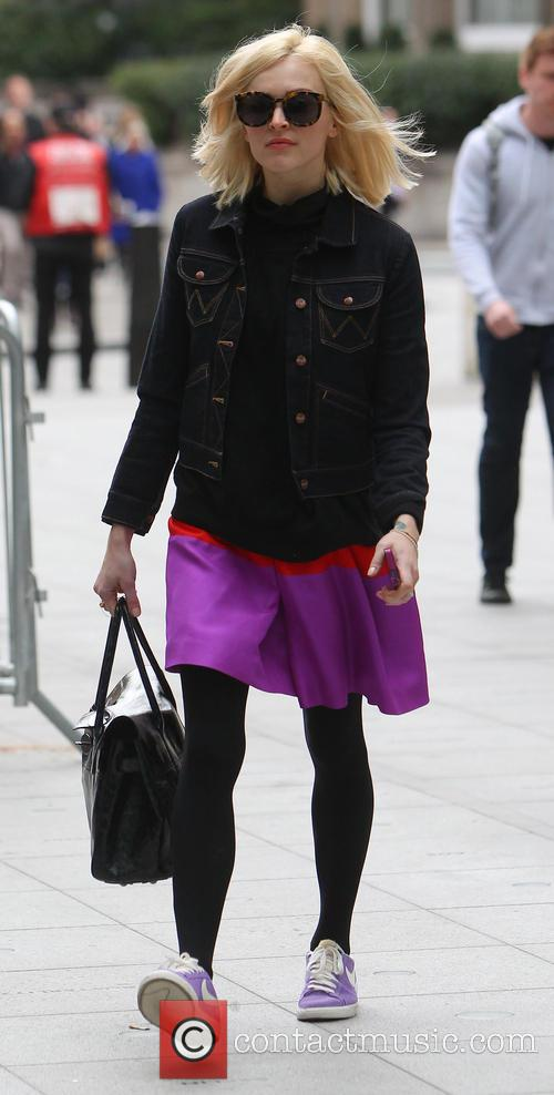 Fearne Cotton work arrival