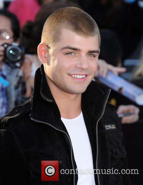 garrett clayton premiere of divergent held at 4116666