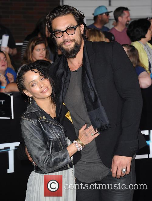 Lisa Bonet and Jason Momoa 2
