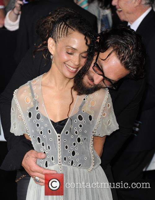 Lisa Bonet and Jason Momoa 3