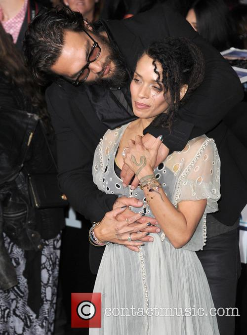 Lisa Bonet and Jason Momoa 5