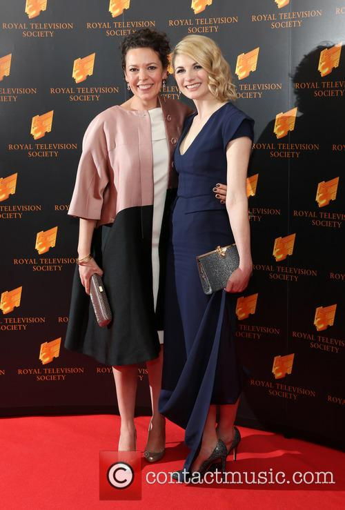 Olivia Colman and Jodie Whittaker 3