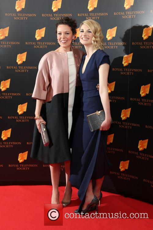 Olivia Colman and Jodie Whittaker 5