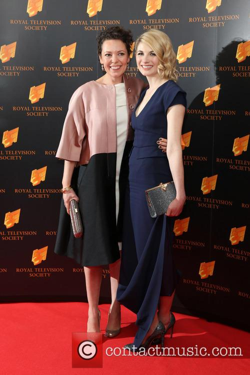 Olivia Colman and Jodie Whittaker 6