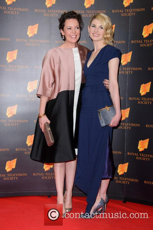 Olivia Colman and Jodie Whittaker 7