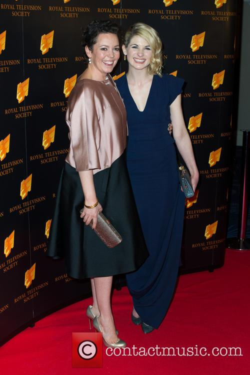 Olivia Colman and Jodie Whittaker 8