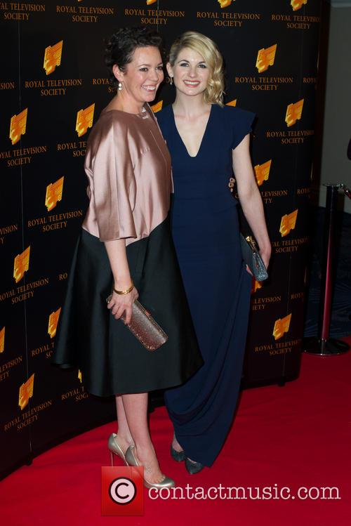 Olivia Colman and Jodie Whittaker 9