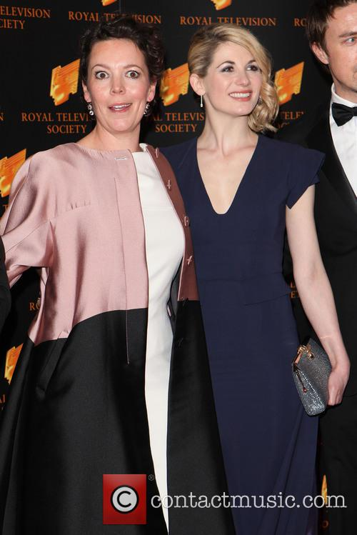 olivia colman jodie whittaker the rts awards 2014 4116860