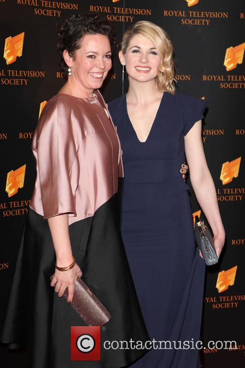 Olivia Colman and Jodie Whittaker 11