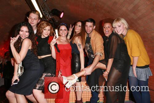 Eliza Doolittle, John Newman, Georgia La, Laura Dockrill, Mel C, Example, Lauren Laverne and Gemma Cairnery 5