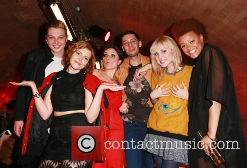 John Newman, Georgia La, Laura Dockrill, Example, Lauren Laverne and Gemma Cairnery 2