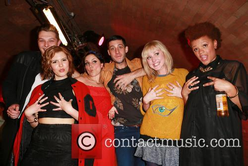 John Newman, Georgia La, Laura Dockrill, Example, Lauren Laverne and Gemma Cairnery 1