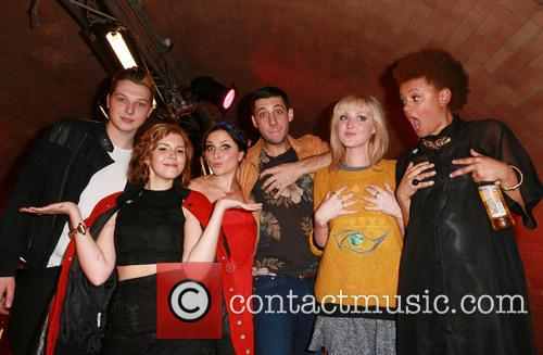 John Newman, Georgia La, Laura Dockrill, Example, Lauren Laverne and Gemma Cairnery 3