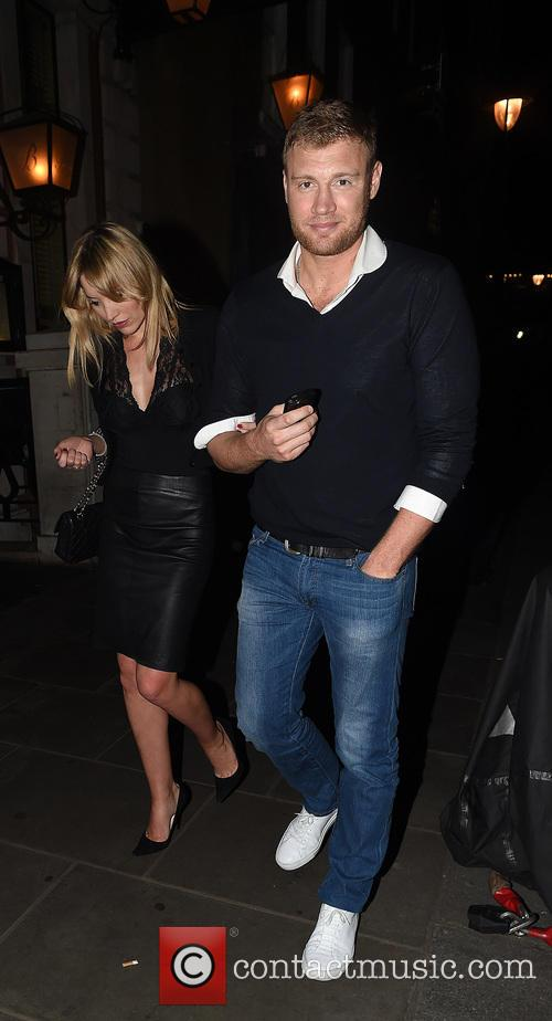 Freddie Flintoff and Rachael Wools Flintoff