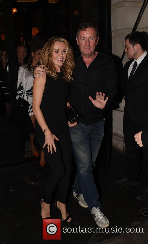 Piers Morgan, Amanda Holden, Groucho Club