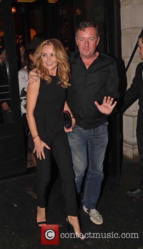 Piers Morgan and Amanda Holden 4