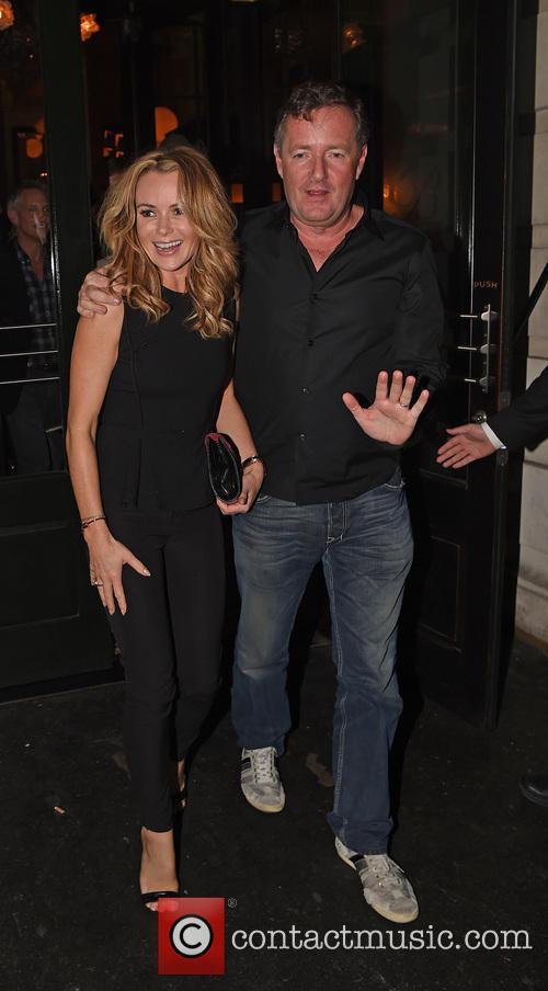 Piers Morgan and Amanda Holden 6