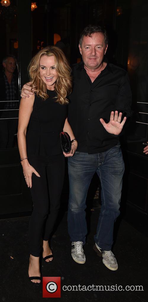Piers Morgan and Amanda Holden 8
