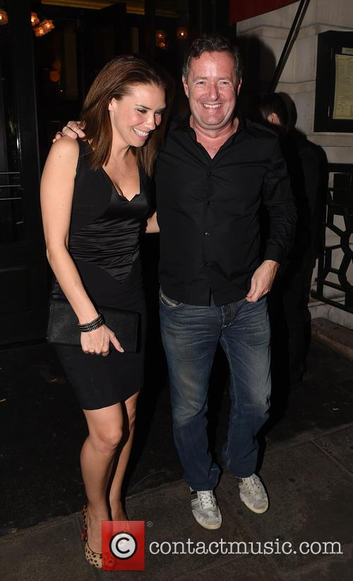 Piers Morgan and Jessica Taylor 3
