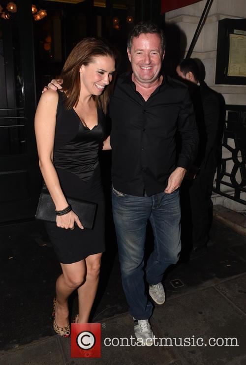 Piers Morgan and Jessica Taylor 7