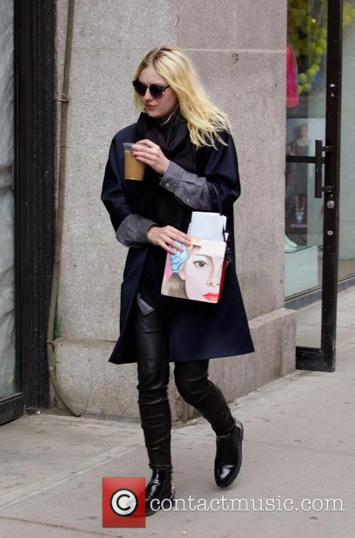Dakota Fanning seen in Nolita