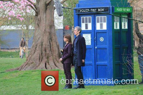 Peter Capaldi and Dr Who 4