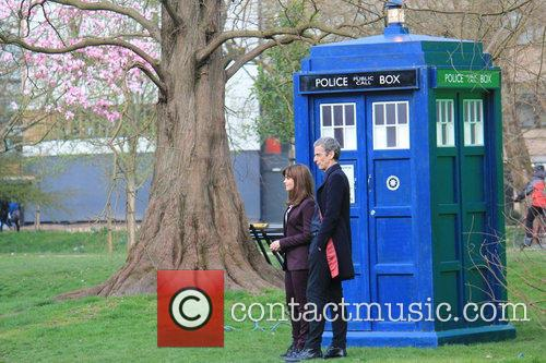 Peter Capaldi and Dr Who 5