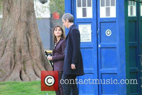 Peter Capaldi and Dr Who 6