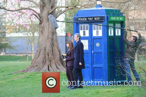 Peter Capaldi and Dr Who 11