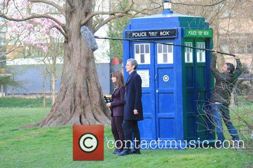 Peter Capaldi and Dr Who 12