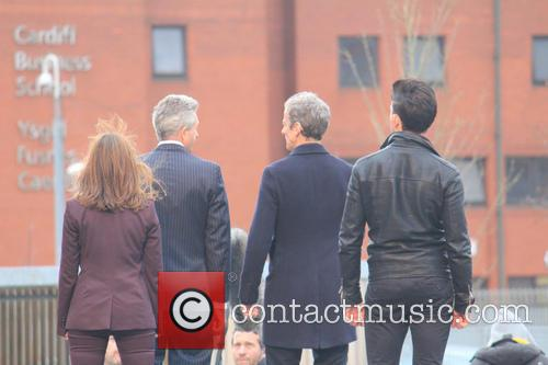 Peter Capaldi and Dr Who 3