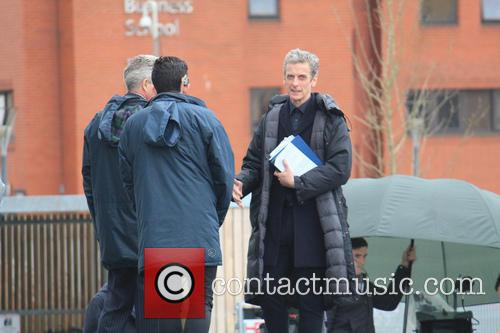 Peter Capaldi and Dr Who 8