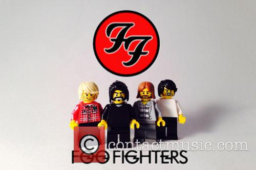 Foo Fighters as Lego