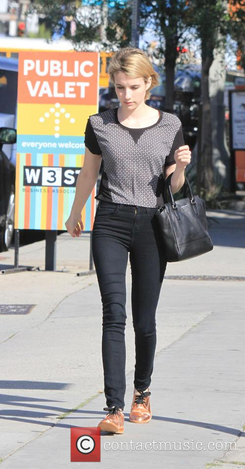 emma roberts emma roberts out in copper 4117375