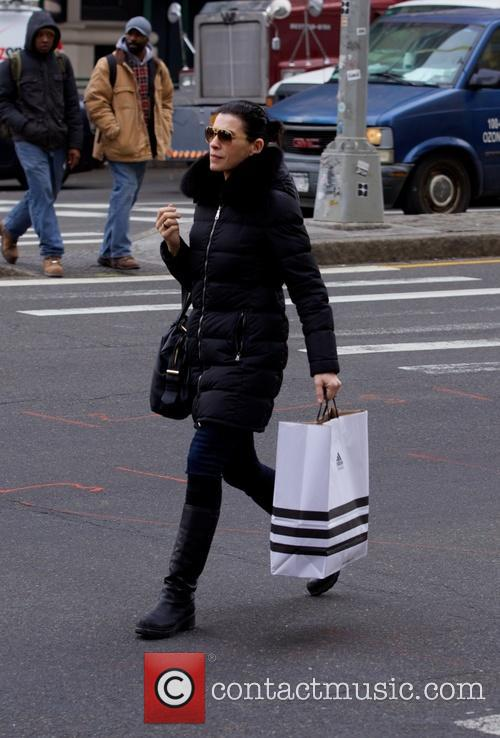 Julianna Margulies seen in Soho