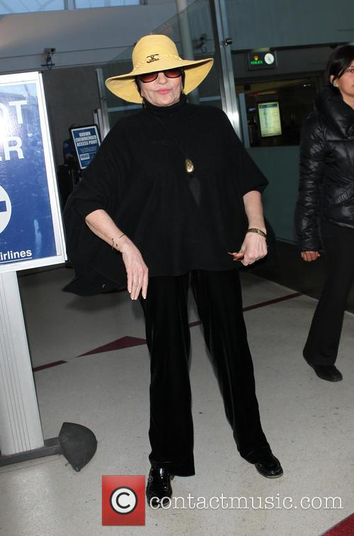 Liza Minnelli at LAX