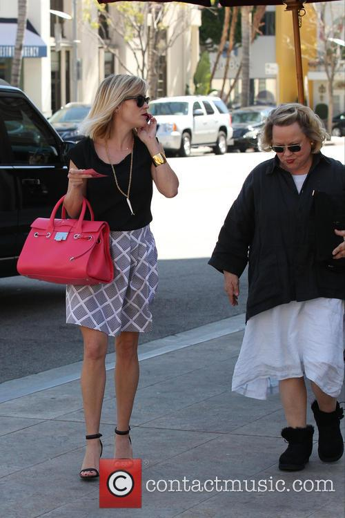 Reese Witherspoon and her mother Betty Reese Witherspoon...